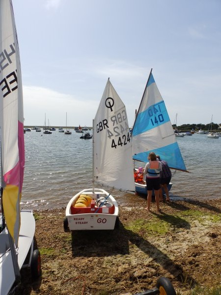 Sailing has always been a big part of life at Keyhaven