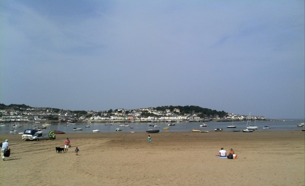 Appledore from Instow beach