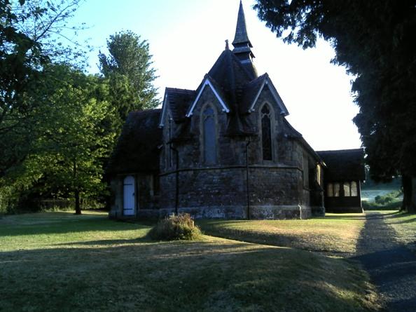 The church at Purton