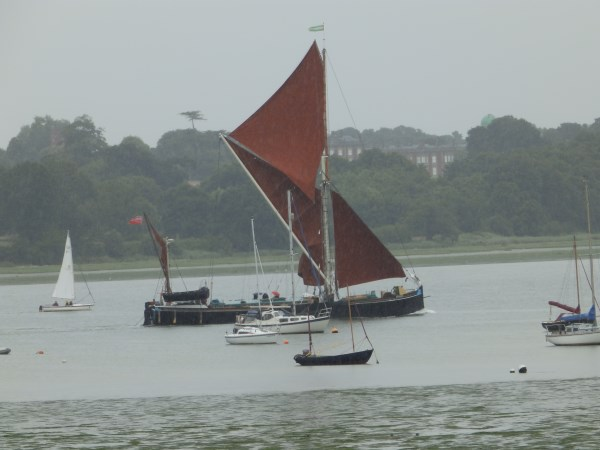 77. sailing barge on the Orwell (600 x 450)