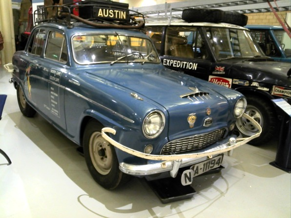 Cape Cold to Cape Hot; Richard Pape's Austin A90 Cap Nord Norway to Cape Town South Africa car