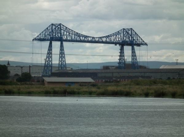 The Transporter Bridge in Middlesborough